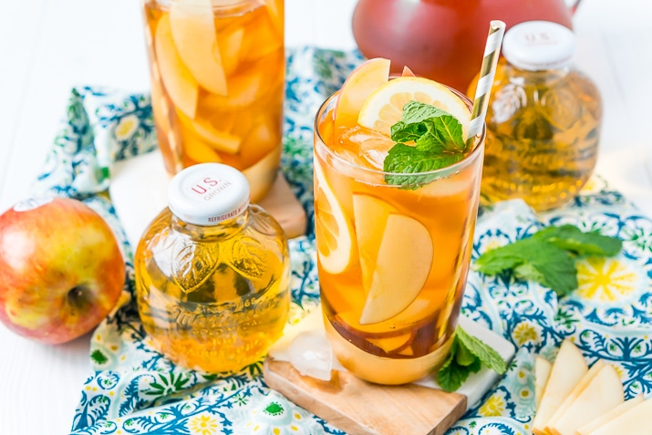 Beat the Summer, Enjoy a Refreshing Apple Ice Tea