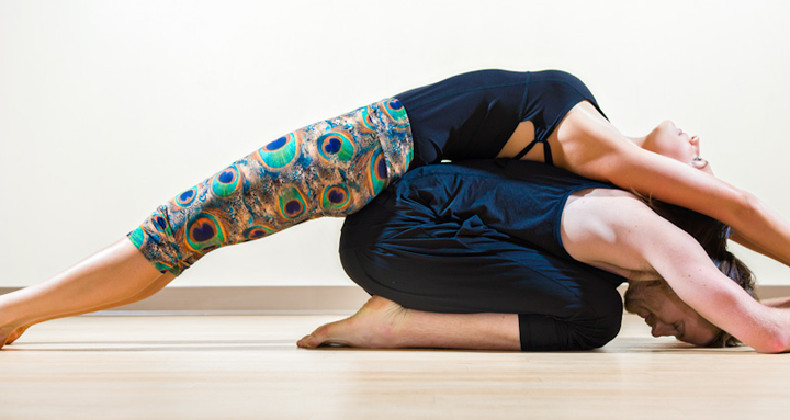 How to increase intimacy with couple yoga