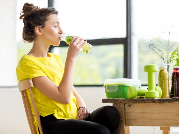 Boost your Workout with Mint Tea!