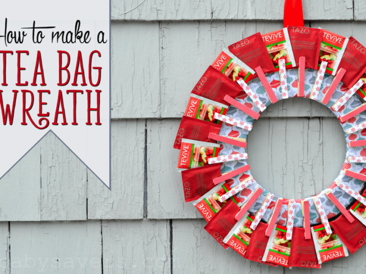 How to make a Tea Bag Wreath?